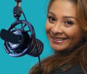 La periodista de Costa Rica Gaby Ugarte