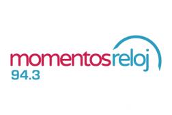 Logotipo de la radio momentos reloj de Costa Rica