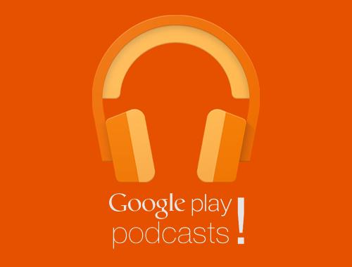 Logo de Google Play podcasts