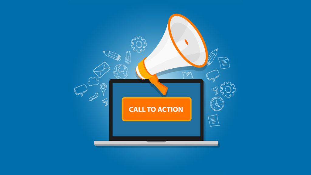 Llamada a la acción para hacer un podcast
