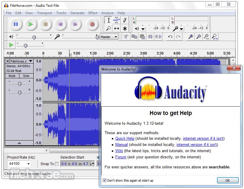 Cómo editar en Audacity