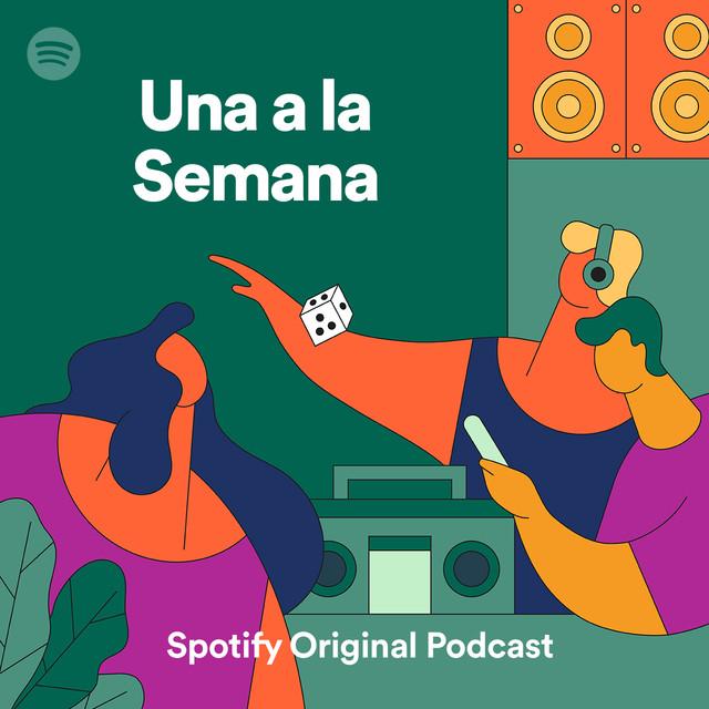 Caratula podcast una a la semana de Molo Cebrián