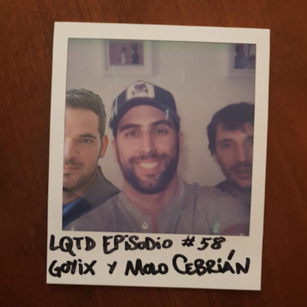 Carátula del podcast Lo que tu digas de Alex Fidalgo con Molo Cebrián