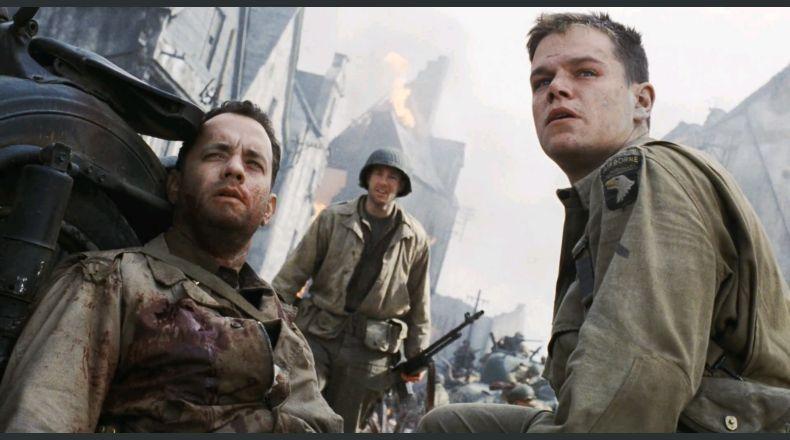 Fotograma de la película de Steven Spielberg Salvar al soldado Ryan