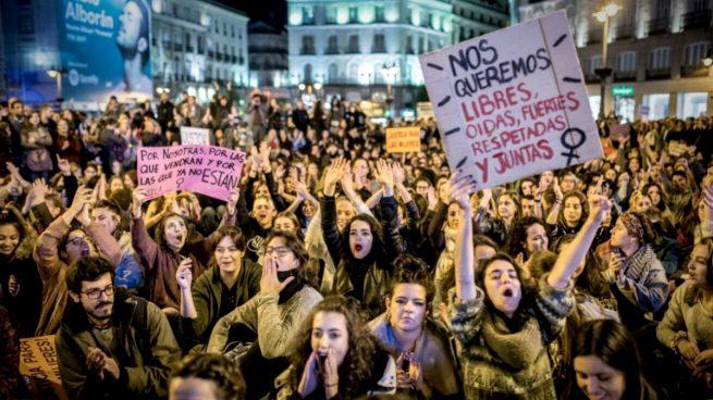 Foto de la Huelga feminista del 8M