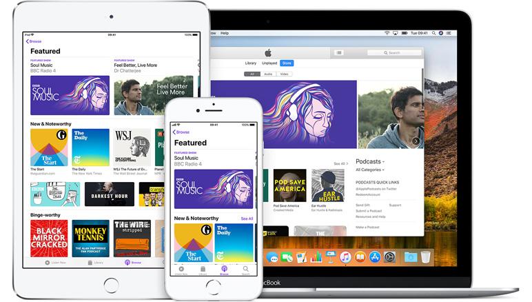 El Directorio de Apple Podcasts