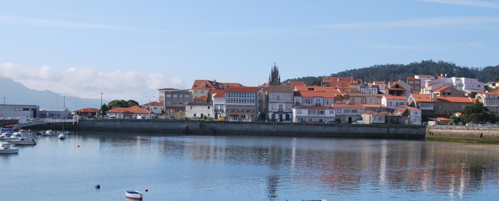 Corcubión. Costa da Morte. Galicia. Pueblo de Alex Fidalgo