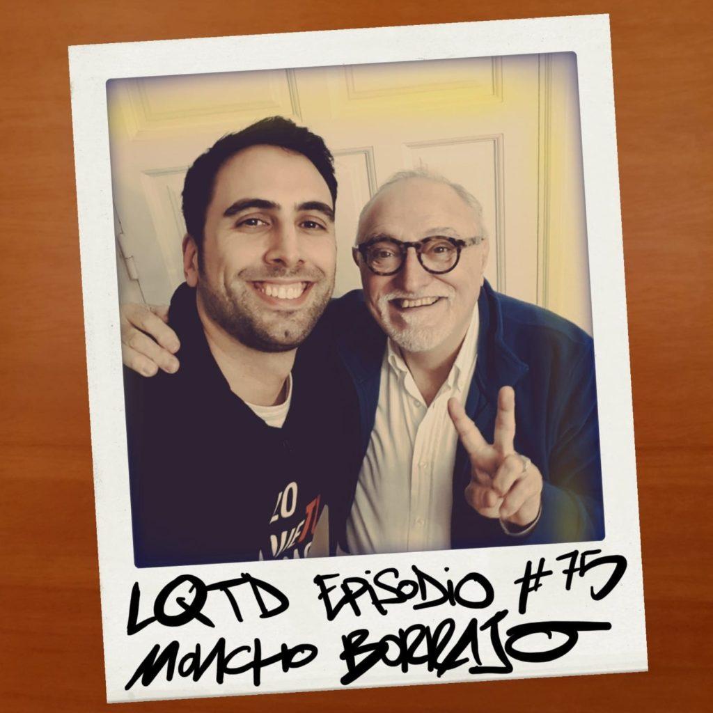 Entrevista de Alex Fidalgo a Moncho Borrajo para su podcast Lo que tú digas