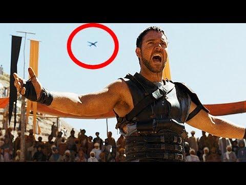 Error de raccord o continuidad en la película Gladiator