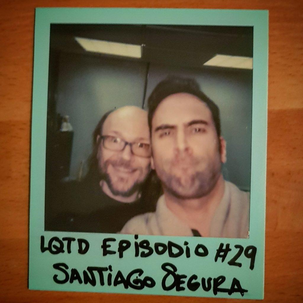 Entrevista de Alex Fidalgo a Santiago Segura en el podcast Lo que tú digas