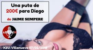 Una puta de 200€ para Diego