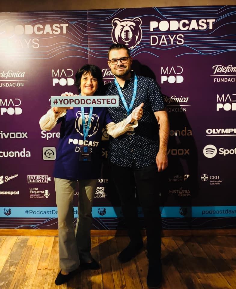 Iván Patxi en los Podcast Days