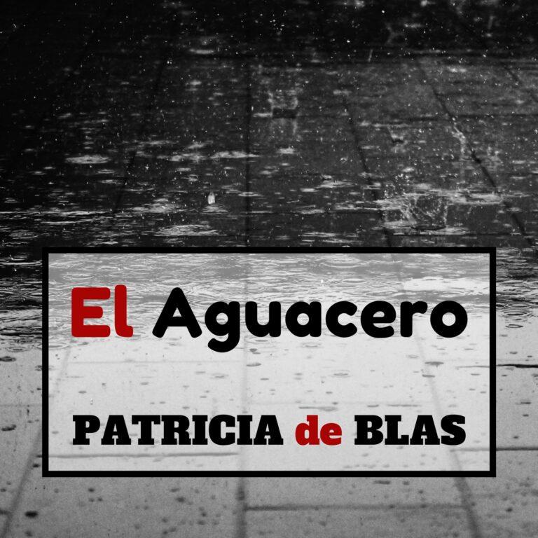 El aguacero. PATRICIA DE BLAS