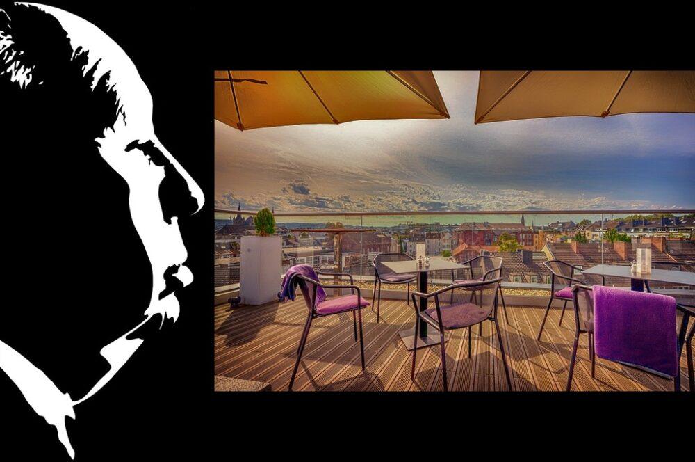 Alfred Hitchcock presenta: Panorama desde la terraza - ABISMOfm