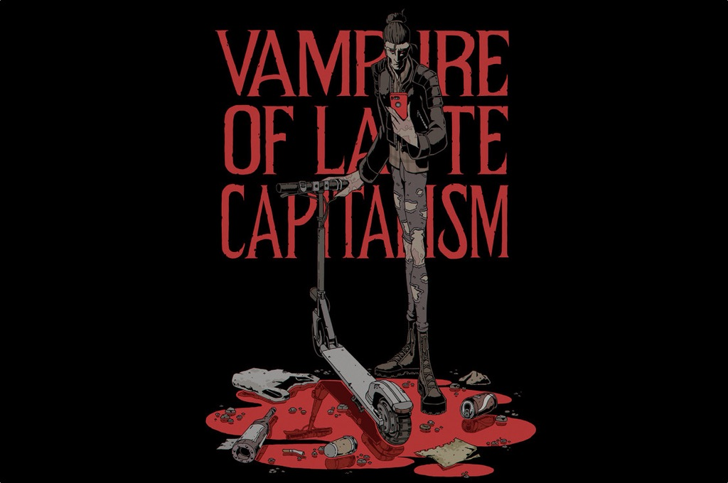 Vampire of late capitalism. CARLOS G. GURPEGUI - ABISMOfm