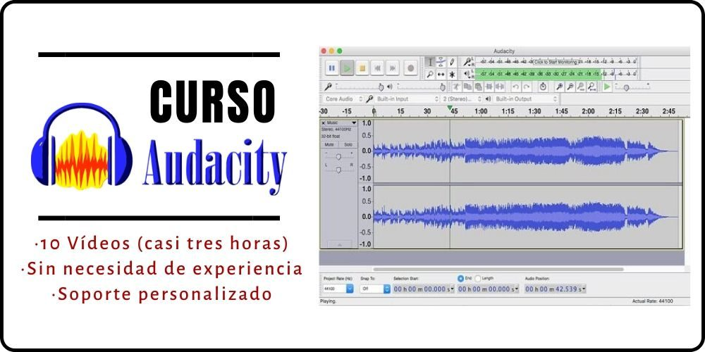 Cómo editar un podcast profesional con Audacity - ABISMOfm